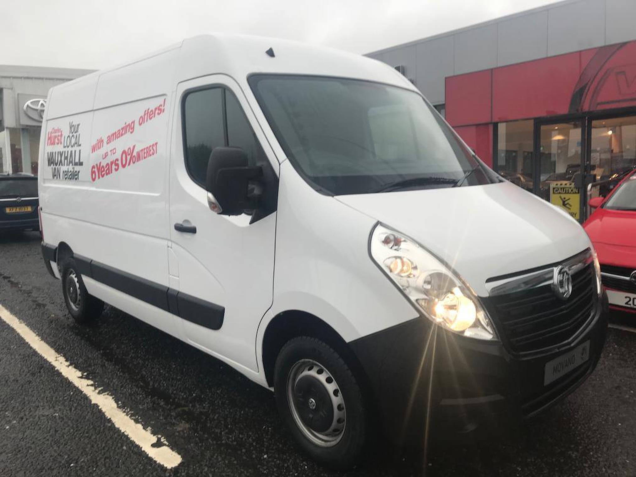 97c99f0f30 Dealer New MOVANO VAUXHALL 2.3 Cdti H2 Van 130Ps 2019