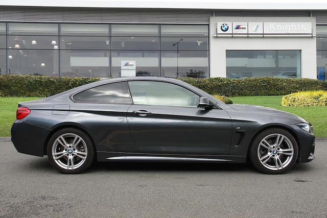 Nearly New 4 SERIES BMW 430D M Sport Coupe 2019 | Lookers
