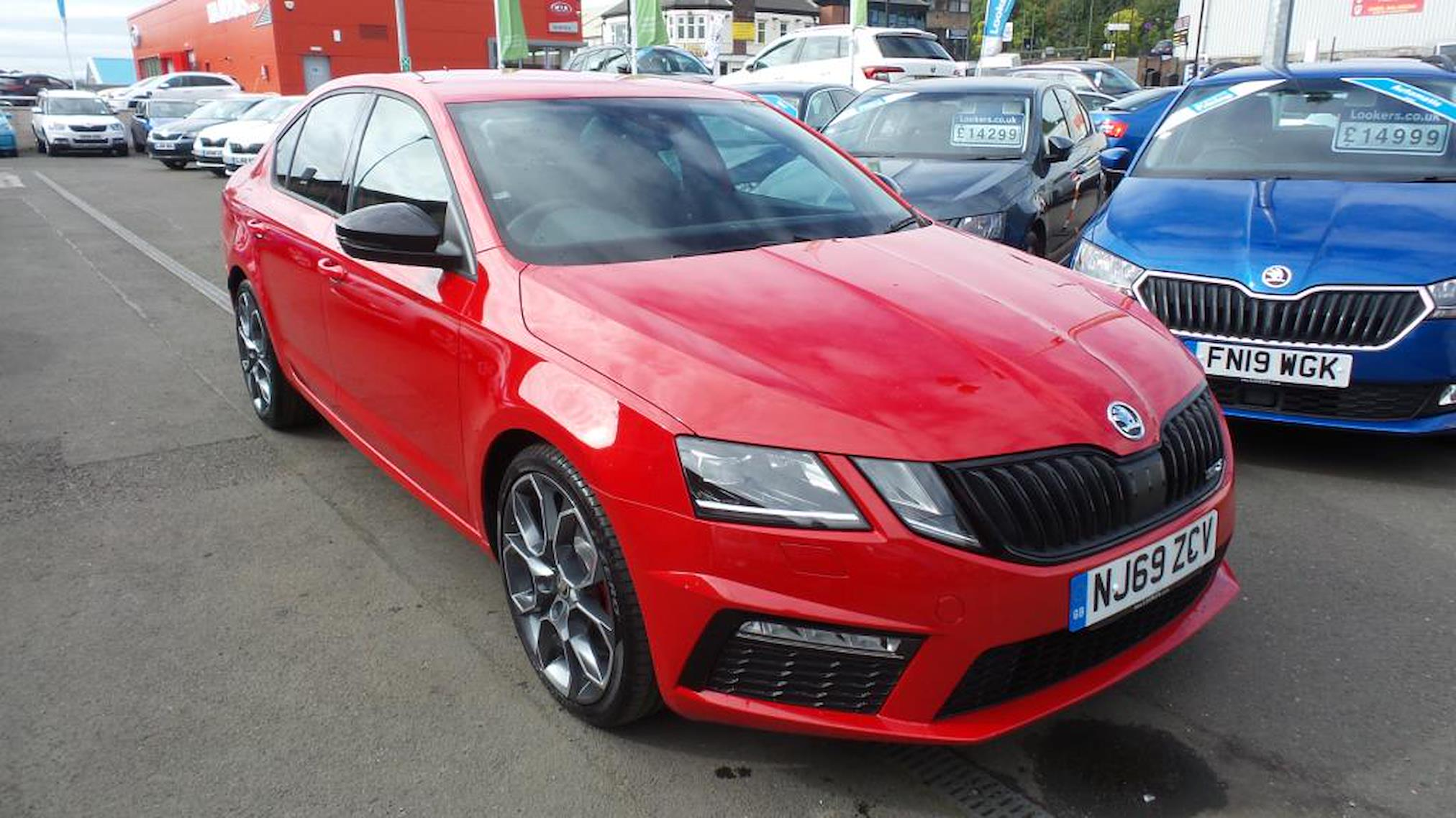 Nearly New OCTAVIA SKODA 2.0 TDI CR vRS 4x4 5dr DSG [7 ...