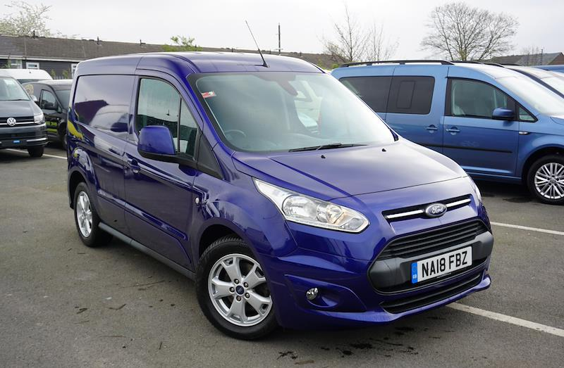Used TRANSIT CONNECT FORD 1 5 Tdci 120Ps Limited Van 2019
