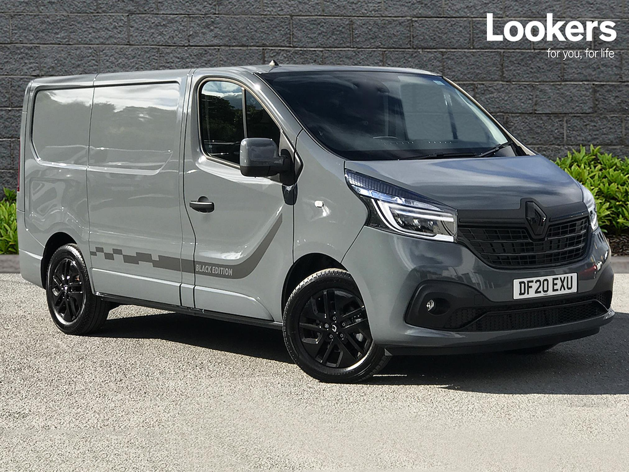 Nearly New Trafic Renault Sl28 Energy Dci 145 Black Edition Van 2020 Lookers