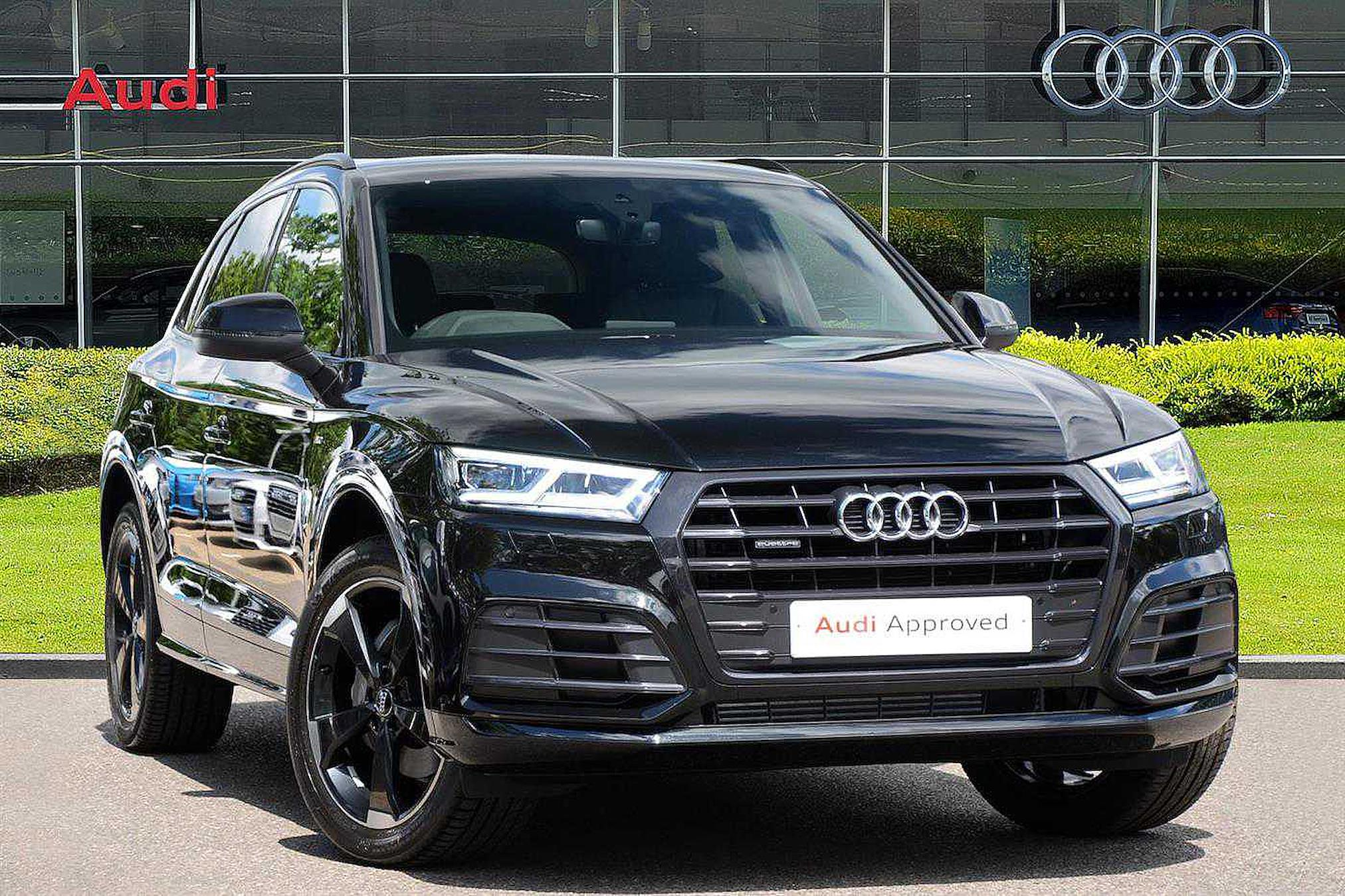 Audi Finance Offers >> Nearly New Q5 AUDI Black Edition 45 Tfsi Quattro 245 Ps S ...