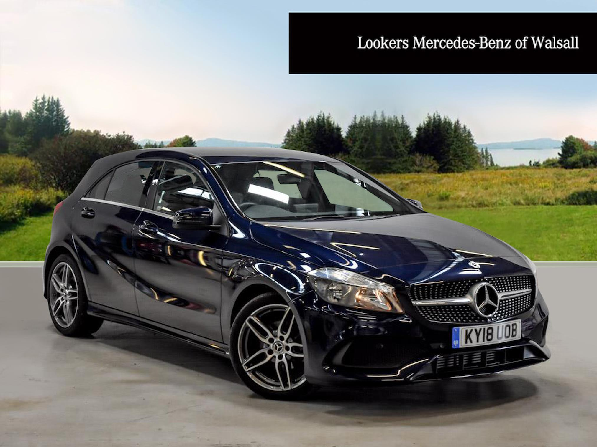 Used A CLASS MERCEDES-BENZ A200D Amg Line 5Dr Auto 2018 | Lookers