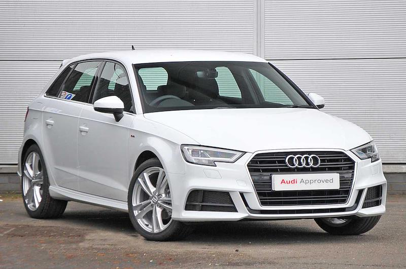 Nearly New A3 Audi S Line 35 Tfsi 150 Ps S Tronic 2018 Lookers