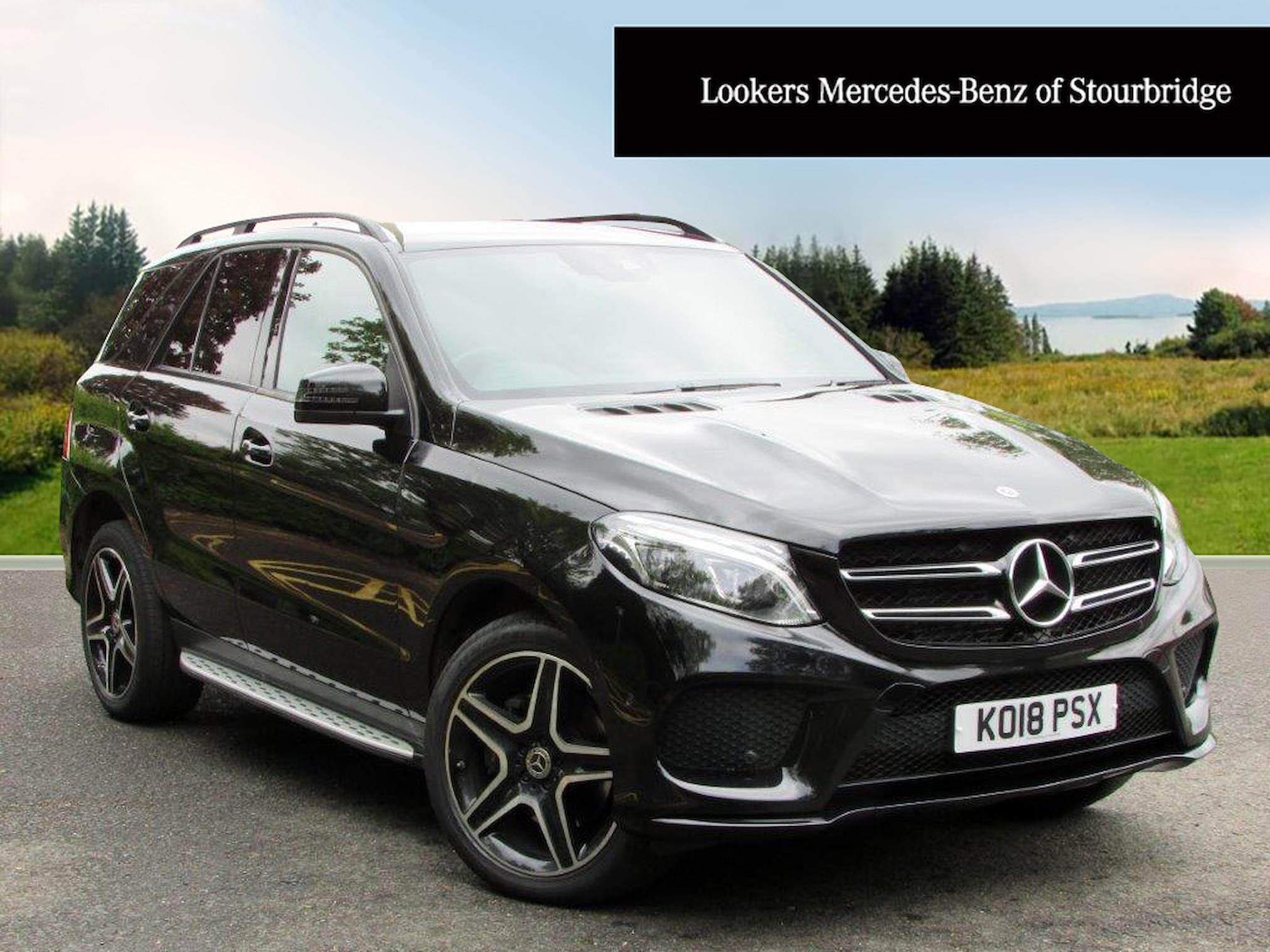 Used GLE MERCEDES-BENZ Gle 350D 4Matic Amg Night Edition 5Dr