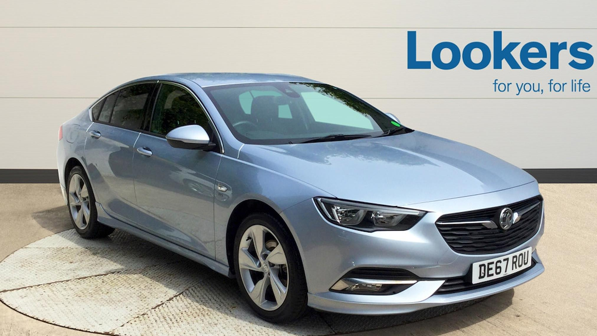 Used INSIGNIA VAUXHALL 1 5T Sri Vx-Line Nav 5Dr 2018 | Lookers