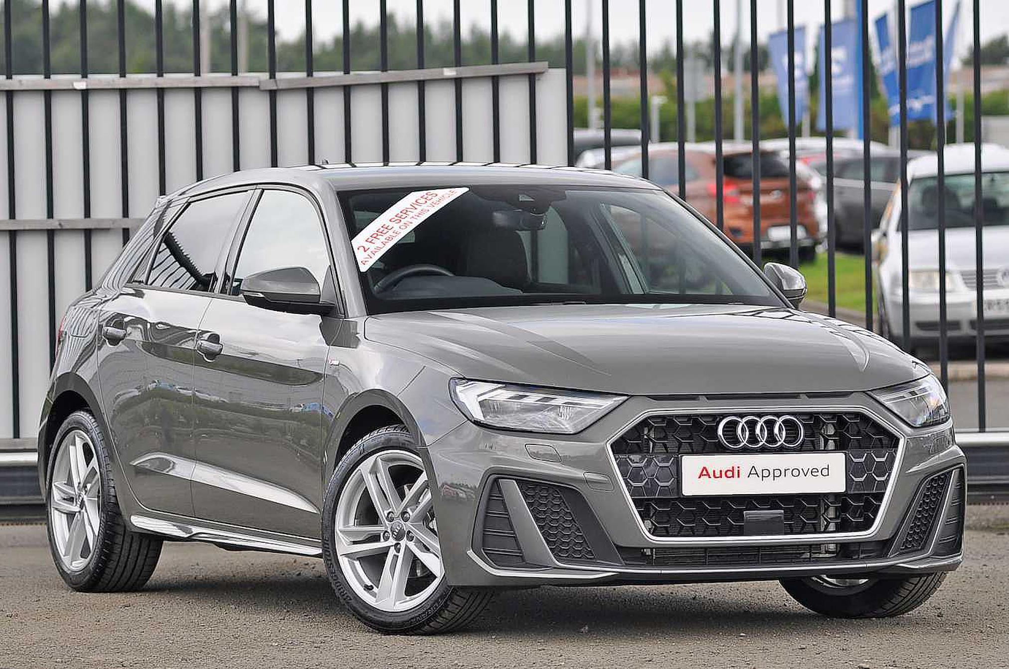 Nearly New A1 Audi S Line 30 Tfsi 116 Ps 6 Speed 2019 Lookers
