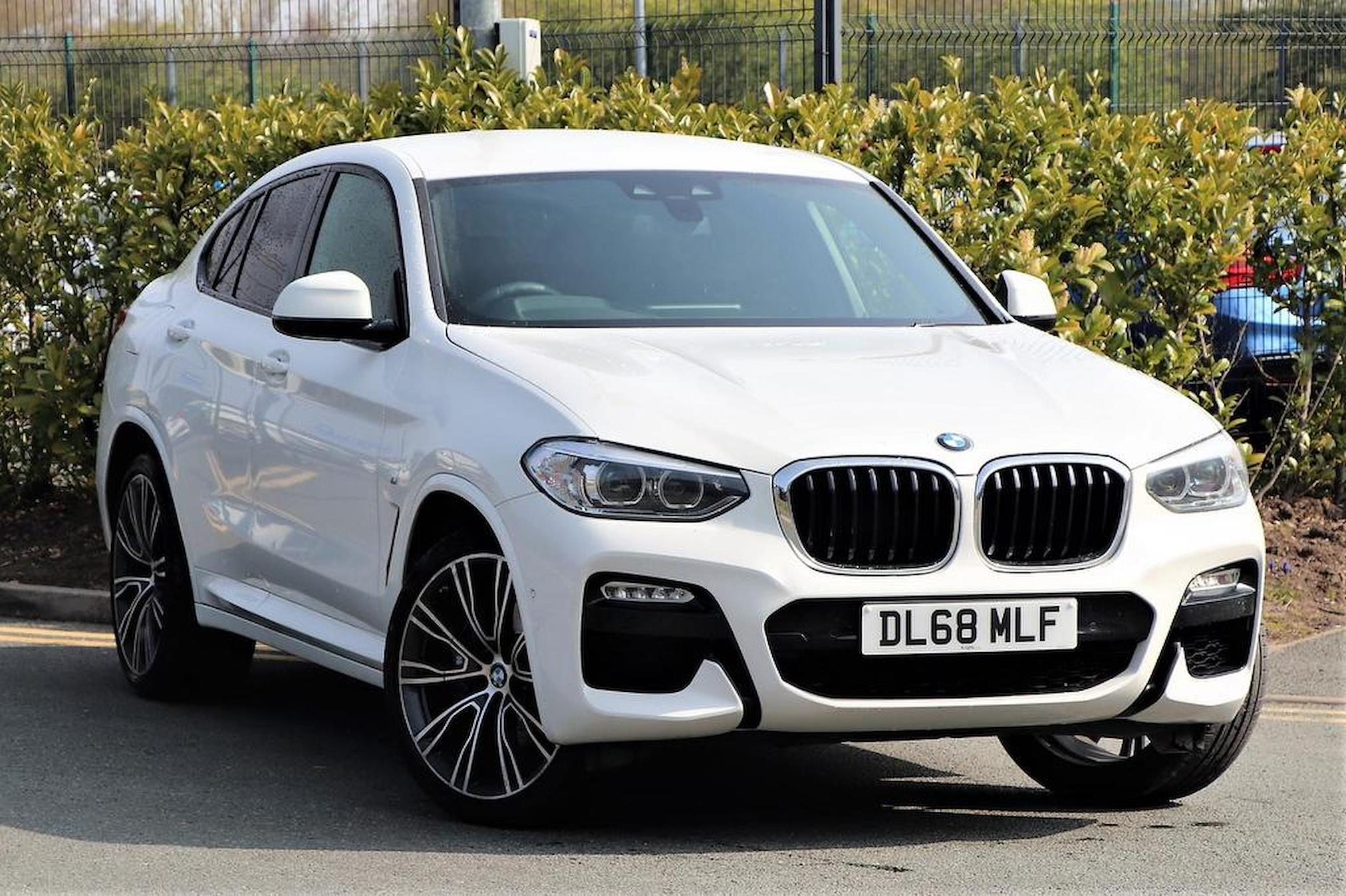 Nearly New X4 BMW X4 Xdrive30D M Sport 2019 | Lookers
