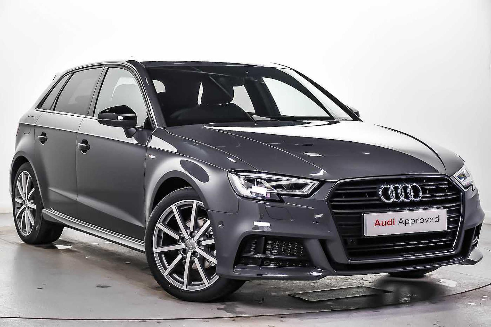 Nearly New A3 Audi 35 Tfsi Black Edition 5dr S Tronic 2019 Lookers