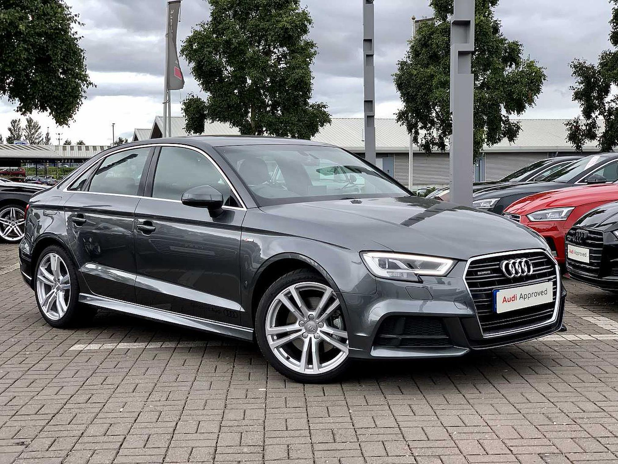 Nearly New A3 Audi S Line 40 Tfsi Quattro 190 Ps S Tronic 2019 Lookers
