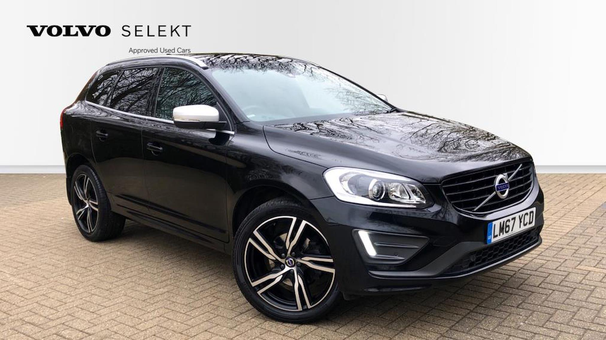 Used XC60 VOLVO D4 [190] R Design Lux Nav 5Dr Geartronic
