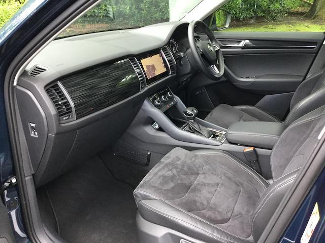 Used KODIAQ SKODA 2 0 Tdi Se L 4X4 5Dr Dsg [7 Seat] 2018   Lookers