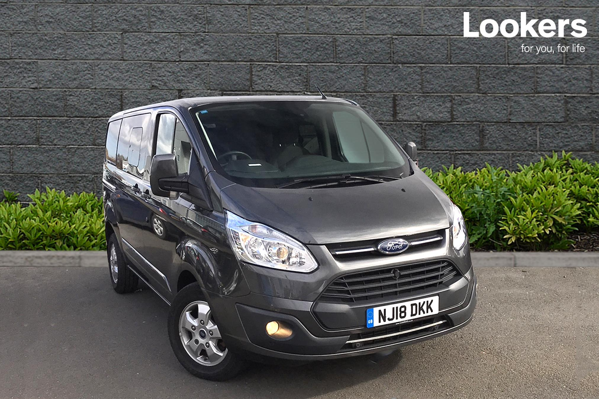 45fbadd720934a Used TRANSIT CUSTOM FORD 2.0 Tdci 170Ps Low Roof D Cab Limited Van Auto  2017