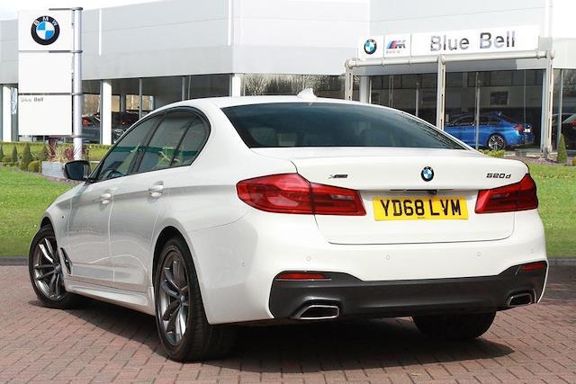 Used 5 SERIES BMW G30 520D Xdrive M Sport Saloon B47 2 0D