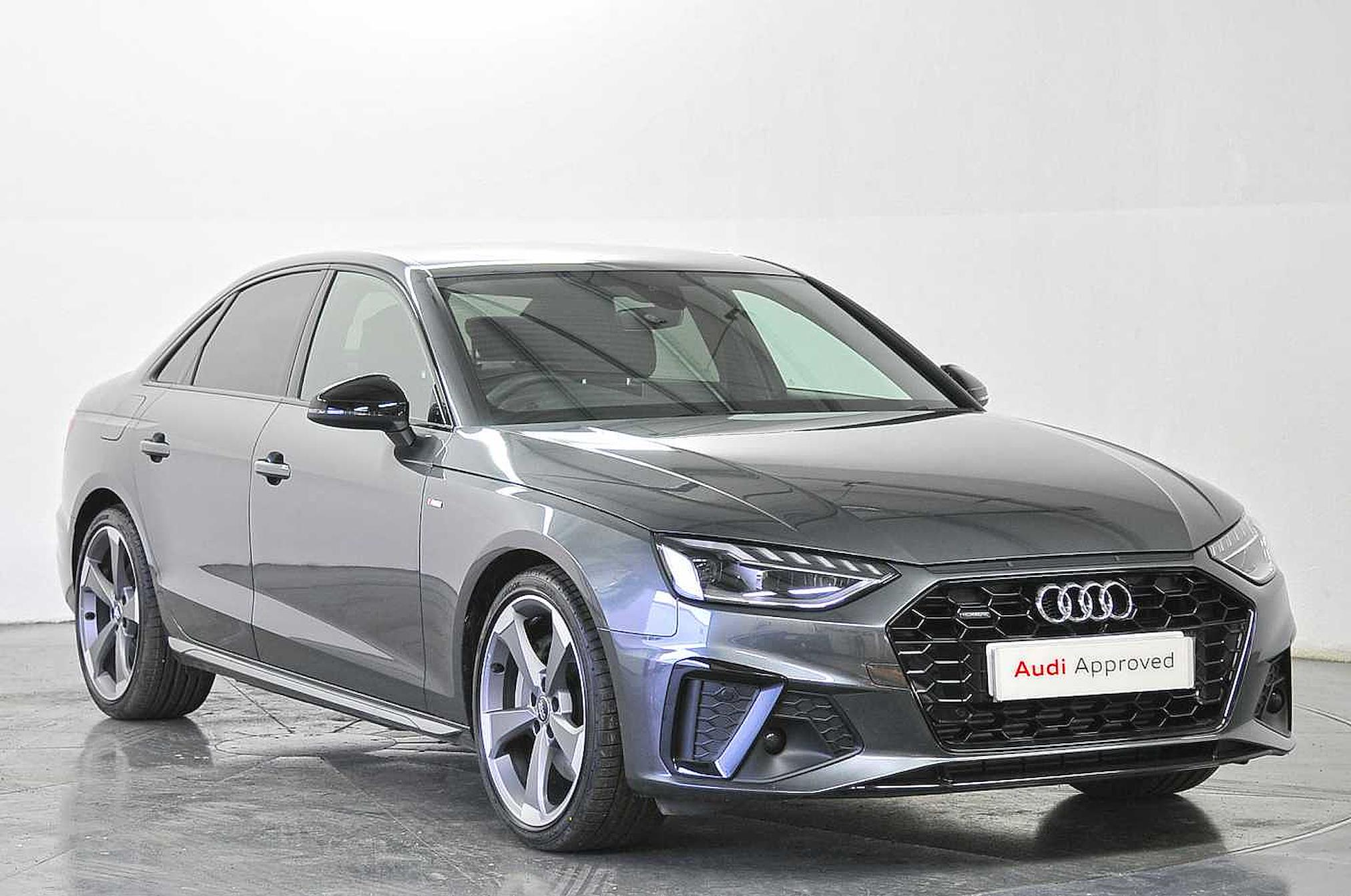 Nearly New A4 Audi 45 Tfsi Quattro Black Edition 4dr S Tronic 2020 Lookers