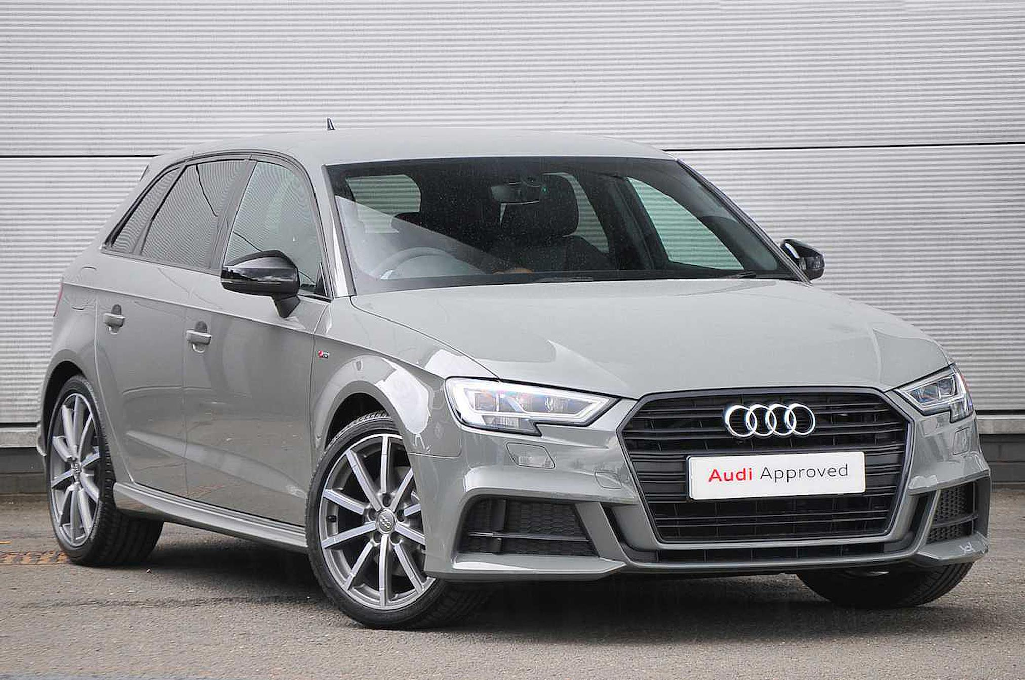 Nearly New A3 Audi Black Edition 35 Tdi 150 Ps S Tronic 2019 Lookers