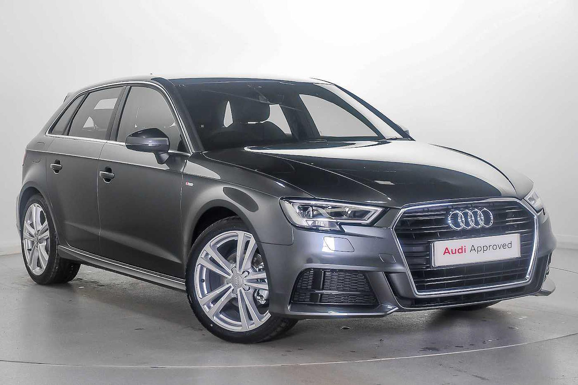 Nearly New A3 Audi 30 Tfsi 116 S Line 5dr 2019 Lookers