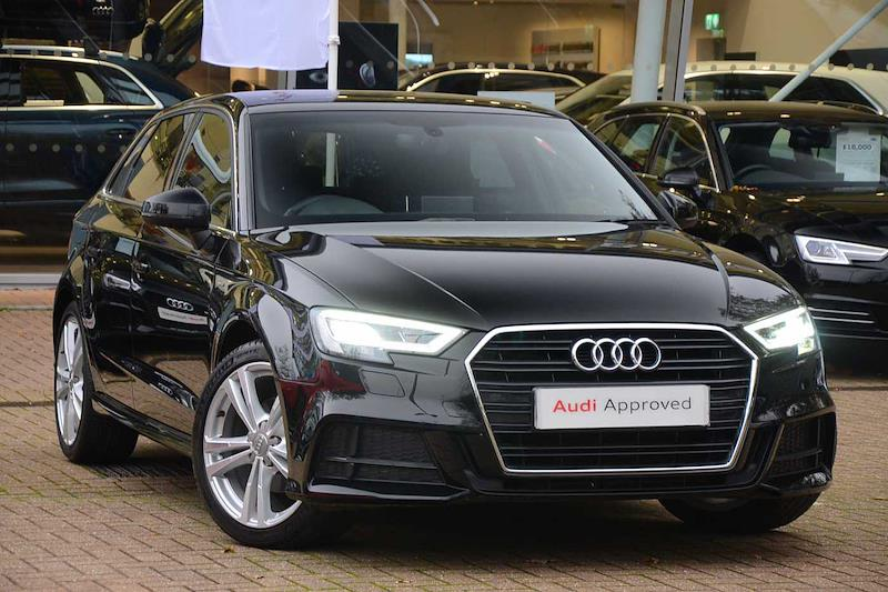 Used A3 Audi 35 Tfsi S Line 5dr S Tronic 2019 Lookers