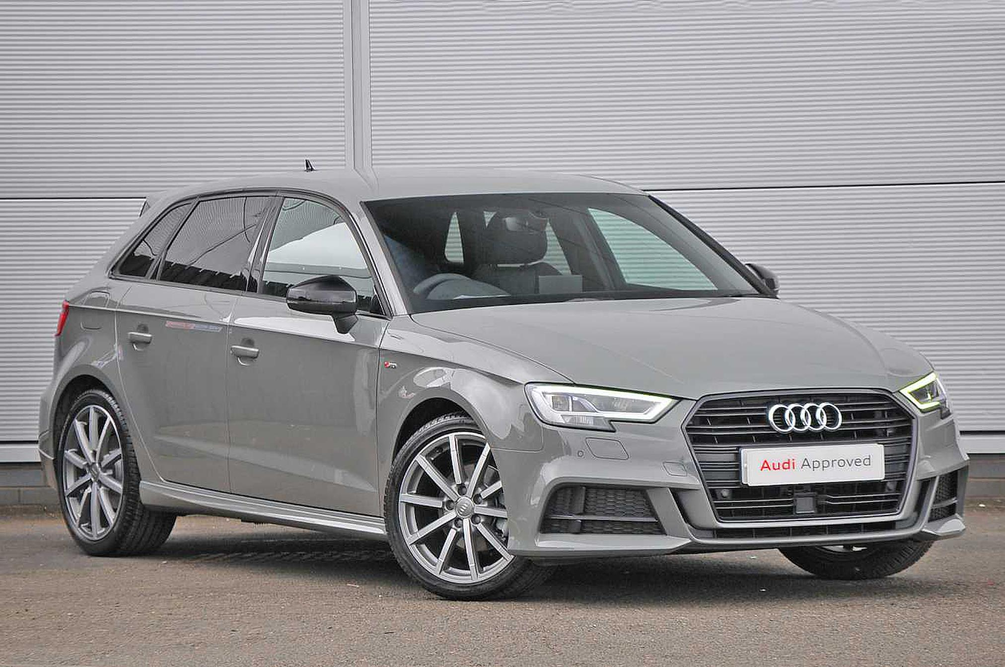 Nearly New A3 Audi Black Edition 35 Tfsi 150 Ps 6 Speed 2019 Lookers