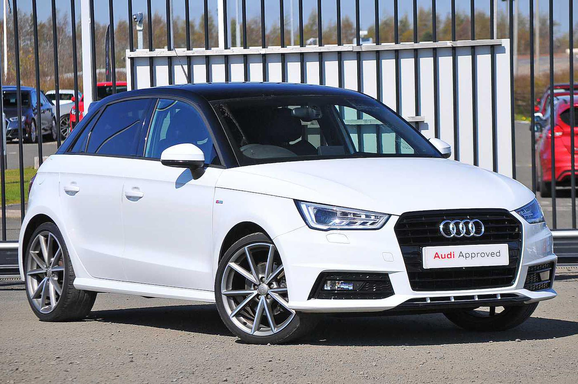 Used A1 Audi Black Edition 1 4 Tfsi Cylinder On Demand 150 Ps 6 Speed 2017 Lookers