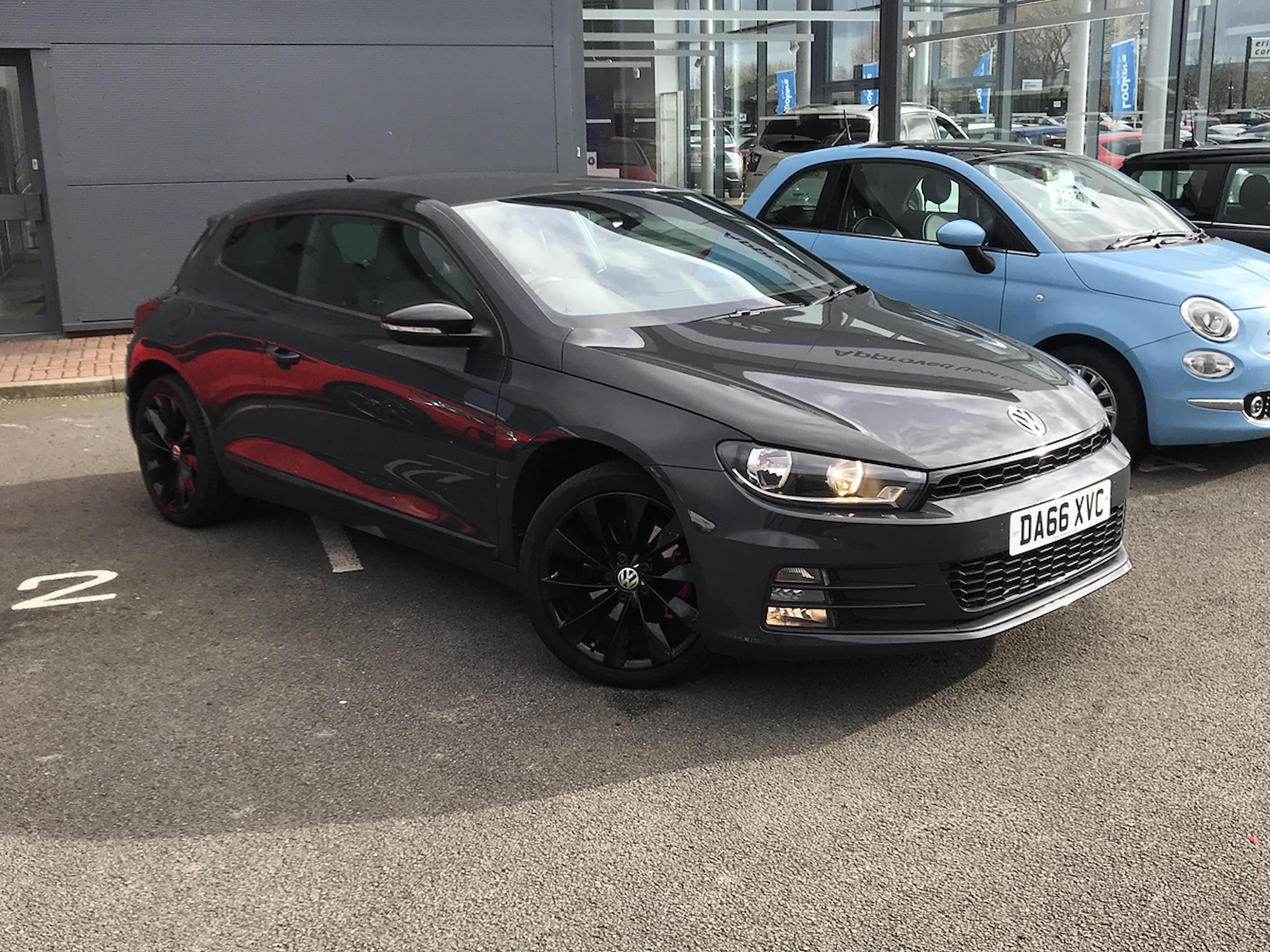 Used Scirocco Volkswagen 2 0 Tdi 184 Bluemotion Tech Gt 3dr Dsg 2016 Lookers