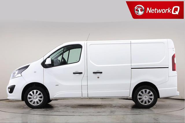 Used VIVARO VAUXHALL 2700 1 6Cdti 120Ps Sportive H1 Van 2017 | Lookers